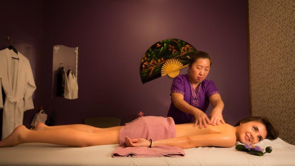 Sexiga underklader set thai tantra massage